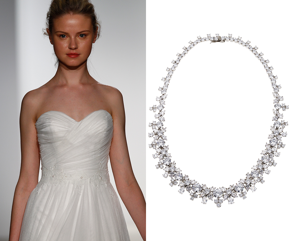 Necklace for wedding dress wedding dress ideas and design for Back necklace for wedding dress